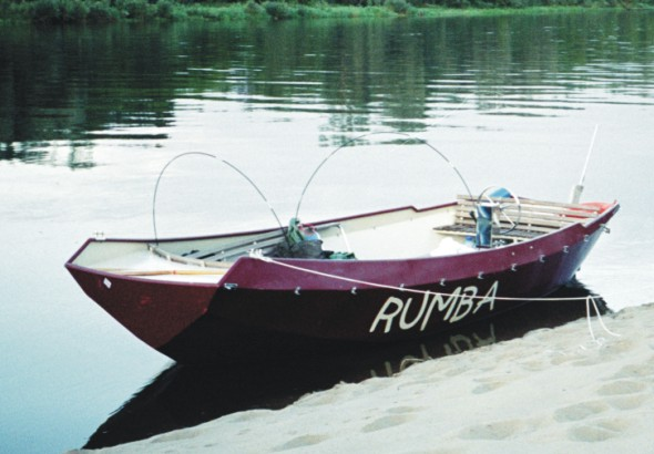 Rumba - stalowa łódź motorowa